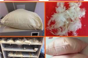 Объявление №40503 : Чистка и реставрация пухо-перовых подушек