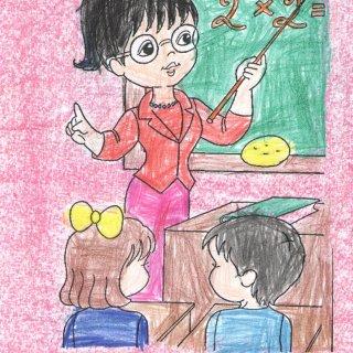Сергей Х., 7 лет. Мама учительница математики
