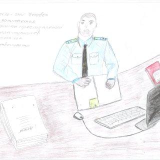 Черноскутов Кирилл, 9 лет. Папа-следователь
