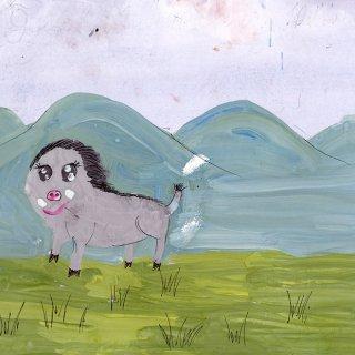 Белова Анна, 7 лет.